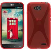 Silicone Case for LG L90 Dual X-Style red