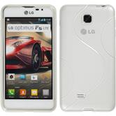 Silicone Case for LG Optimus F5 S-Style transparent