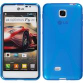 Silicone Case for LG Optimus F5 X-Style blue