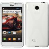Silicone Case for LG Optimus F5 X-Style white