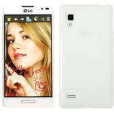 Silicone Case for LG Optimus L9 S-Style white