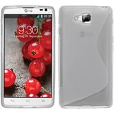 Silicone Case for LG Optimus L9 II S-Style transparent