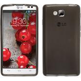 Silicone Case for LG Optimus L9 II transparent black