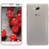 Silicone Case for LG Optimus L9 II transparent white