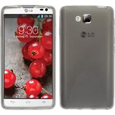 Silicone Case for LG Optimus L9 II X-Style gray