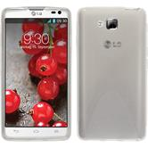 Silicone Case for LG Optimus L9 II X-Style transparent