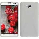 Silicone Case for LG Optimus L9 II X-Style white