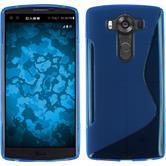 Silikon Hülle V10 S-Style blau Case