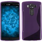 Silikon Hülle V10 S-Style lila Case