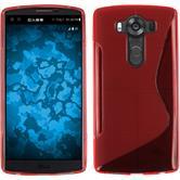 Silikon Hülle V10 S-Style rot Case