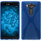 Silikon Hülle V10 X-Style blau Case