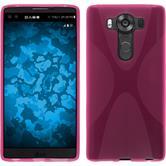 Silikon Hülle V10 X-Style pink Case