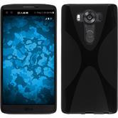 Silikonhülle für LG V10 X-Style schwarz