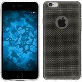 Silikonhülle für Apple iPhone 6s / 6 Iced grau