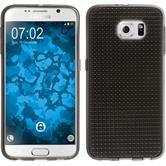 Silikon Hülle Galaxy S6 Iced grau