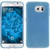 Silikon Hülle Galaxy S6 Iced hellblau