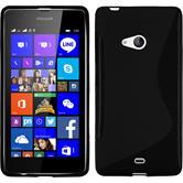 Silikon Hülle Lumia 540 Dual S-Style schwarz