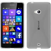 Silikonhülle für Microsoft Lumia 540 Dual X-Style clear