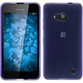 Silikon Hülle Lumia 550 transparent lila