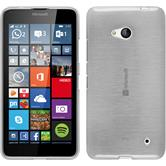 Silicone Case for Microsoft Lumia 640 brushed white