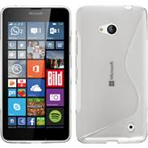 Silicone Case for Microsoft Lumia 640 S-Style transparent