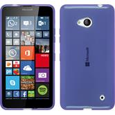 Silicone Case for Microsoft Lumia 640 transparent purple