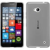 Silicone Case for Microsoft Lumia 640 transparent white