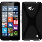 Silicone Case for Microsoft Lumia 640 X-Style black