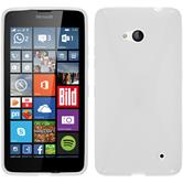 Silicone Case for Microsoft Lumia 640 X-Style white