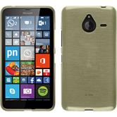 Silikon Hülle Lumia 640 XL brushed gold