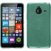 Silikon Hülle Lumia 640 XL brushed grün