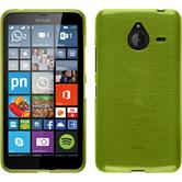 Silicone Case for Microsoft Lumia 640 XL brushed pastel green