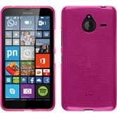 Silikon Hülle Lumia 640 XL brushed pink