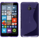 Silicone Case for Microsoft Lumia 640 XL S-Style purple