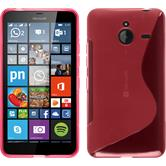 Silicone Case for Microsoft Lumia 640 XL S-Style hot pink