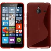 Silicone Case for Microsoft Lumia 640 XL S-Style red