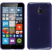 Silicone Case for Microsoft Lumia 640 XL transparent purple