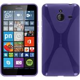 Silicone Case for Microsoft Lumia 640 XL X-Style purple