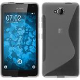 Silikon Hülle Lumia 650 S-Style clear