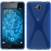 Silikon Hülle Lumia 650 X-Style blau