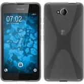 Silikon Hülle Lumia 650 X-Style grau
