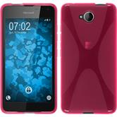 Silikon Hülle Lumia 650 X-Style pink