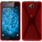 Silikon Hülle Lumia 650 X-Style rot