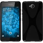 Silikon Hülle Lumia 650 X-Style schwarz