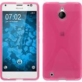 Silikon Hülle Lumia 850 X-Style pink Case