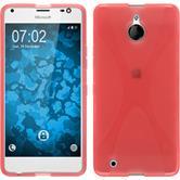 Silikon Hülle Lumia 850 X-Style rot Case