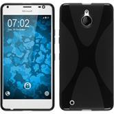 Silikon Hülle Lumia 850 X-Style schwarz Case