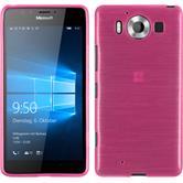Silikon Hülle Lumia 950 brushed pink