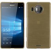 Silikon Hülle Lumia 950 XL brushed gold