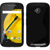 Silicone Case for Motorola Moto E 2015 2. Generation S-Style black